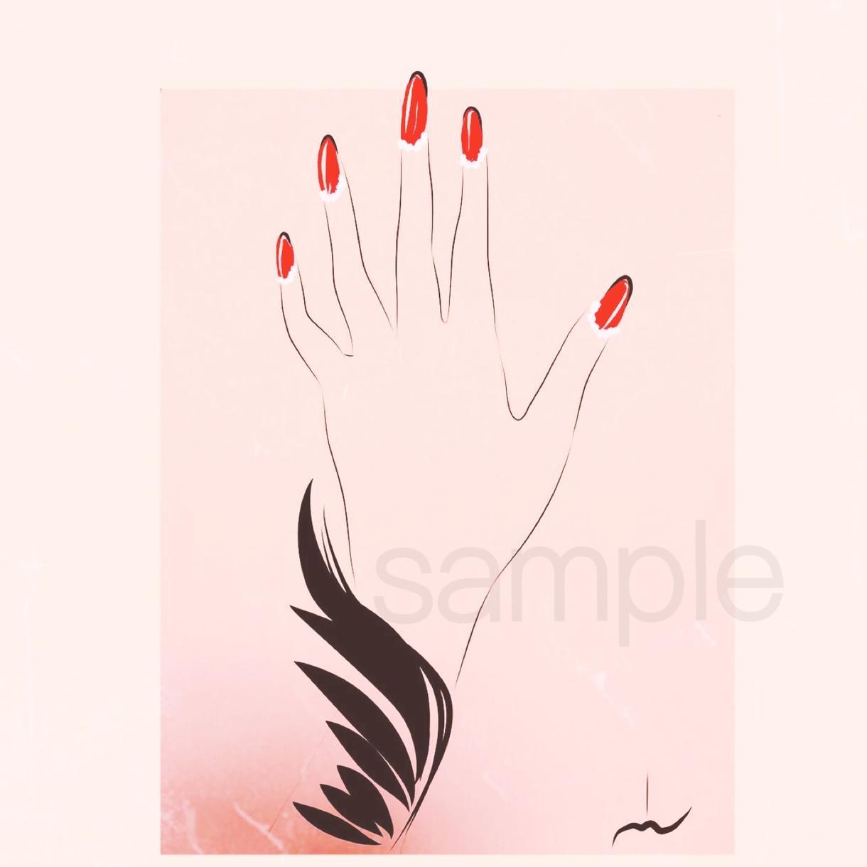 書籍のイラストやポスター、イメージイラスト受けます 大人っぽい女性イラスト、可愛いイラスト、デザイン系も。