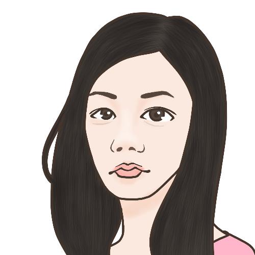 お写真を元に簡易似顔絵を描きます SNSでさり気なく自己アピール★