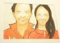 自分らしさを表現できる似顔絵アイコン描きます♫ イメージ1