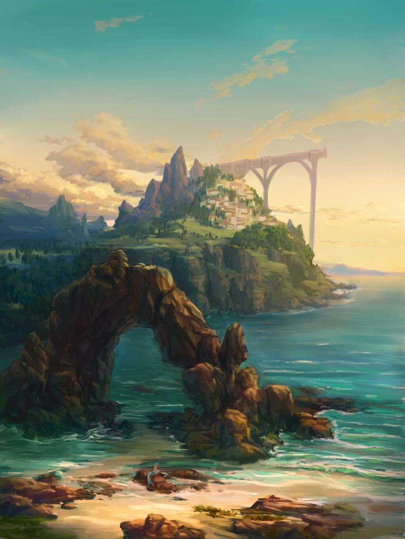 風景・背景イラスト添削致します あなたの絵をより美しく生かす背景テクニック