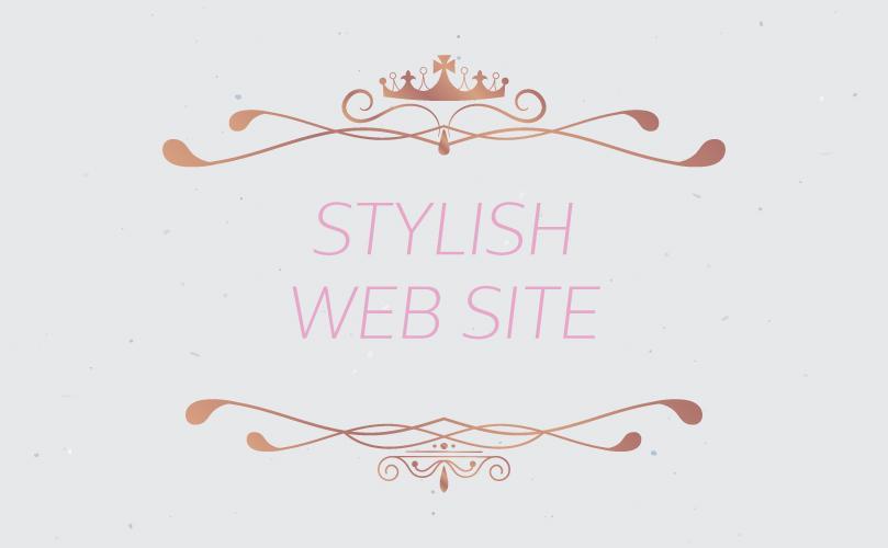 ロープライスでスタイリッシュWebサイトつくります 世界の流行「スタイリッシュWebサイト」制作