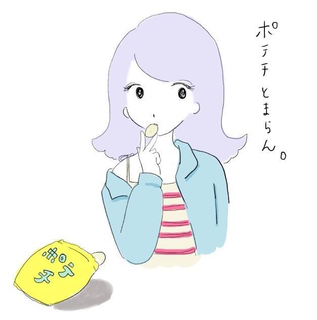 レトロ♡おしゃれな女の子のアイコン描きます 個性的で目を引きます♡Twitterやブログにぴったりです