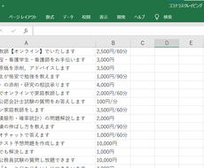 Webからのデータ収集を代行します レポート・ゼミ・卒論で使うデータの収集に!