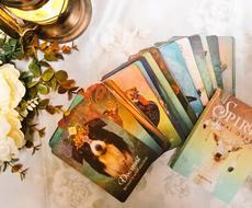 オラクルで鑑定します カードの動物たちから、頑張るあなたへのアドバイス。
