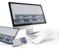 スタイリッシュなホームページを作成します 万全のSEO対策とセキュリティで顧客の確保をお手伝いします!