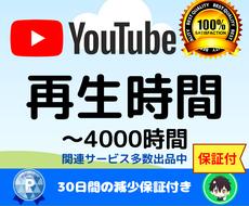 YouTube収益化!再生時間を増やします 収益化報告多数/短い動画OK/最短7日~