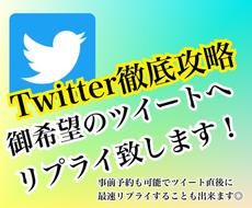 Twitter / ツイートのリプライを増やします 追加オプションでフォロー、いいね、RTも同時平行で対応可能!