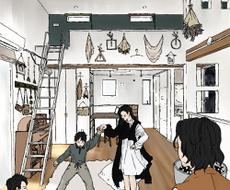 工務店向け広告・SNS用イラスト描きます 現役★経営企画業務従事者(営業マネージャー兼務)