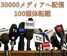 約3万の海外メディアへプレスリリース配信します GoogleNewsに掲載保証!100以上のメディアに転載!