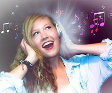 英語の歌が歌えるようにお手伝いをします 歌詞に発音記号とカタカナ読みを付け、ゆっくり音読し録音します