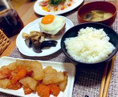 の 晩 メニュー 御飯