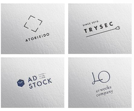 シンプルでミニマル・品のあるロゴをデザイン致します aiデータ込 丁寧なヒアリングで想いを乗せたロゴデザインに
