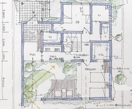 間取りのパターンを作ります 複数の間取り案を提供し、家づくりの可能性を広げます! イメージ1