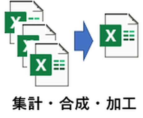 EXCEL合成プログラム作成します 独自テンプレートにより、短期間で柔軟なプログラムを作ります イメージ1