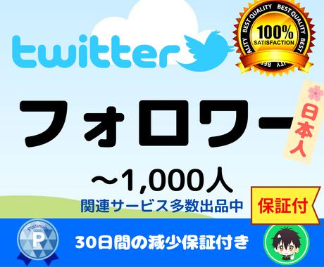 Twitter日本人フォロワーへプロモします 【Twitter】日本人フォロワー+100人になるまでプロモ イメージ1