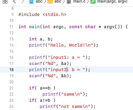 C言語プログラミングを教えます プログラミング初心者に、Xcodeインストールからていねいに イメージ1