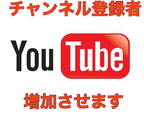 YOUTUBEチャンネル登録者を1000増やします ◆収益化に向け、チャンネル登録者数を1000増加させます◆ イメージ1