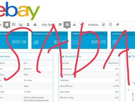 ebay輸出転売スタートアップマニュアルを渡します ライバルセラー商品引き抜きツール、在庫管理ツールもご紹介 イメージ1