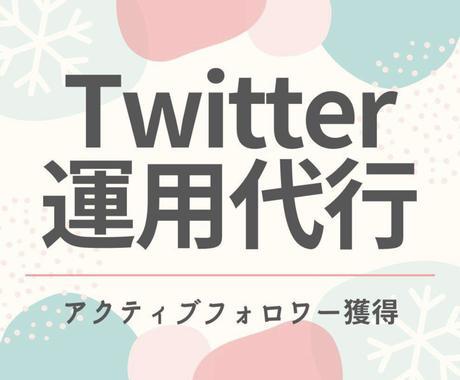 ツイッターのフォロワーを1000人増やします 1ヶ月間でアクティブなフォロワーを1000人増やします。、 イメージ1