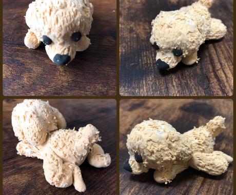 あなたの愛犬のフィギュア作ります ワンちゃんの記念日や思い出づくりにいかがですか?! イメージ1