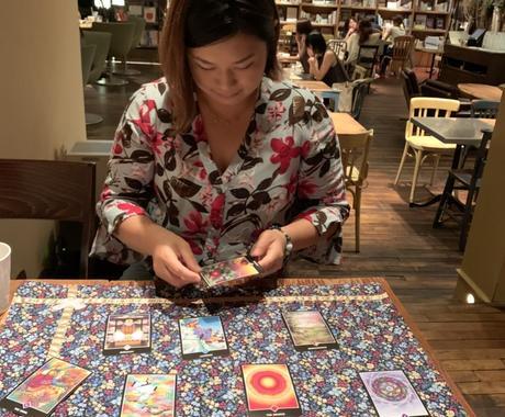 初めての方限定★霊視とカード1枚引きでみます あなたの潜在意識にアクセス!カードも使いながらみていきます イメージ1