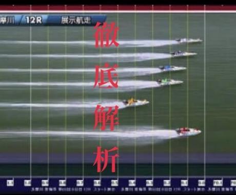競艇(ボートレース)のスタート展示の見方教えまます あなたのスタート展示の予想は本当に正しい見方ですか? イメージ1
