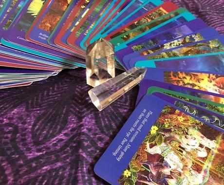 今日のあなたへのメッセージをお伝えします タロットカード1枚引きで、現在の流れがわかります。 イメージ1