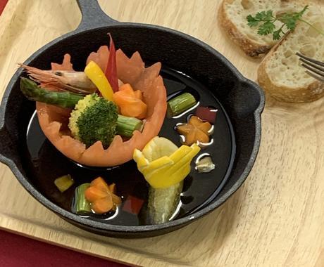 夏にぴったりの料理を紹介します ホテルの調理師が熱い夏にぴったりの料理を紹介します。 イメージ1