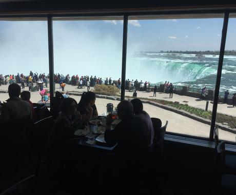 ナイアガラの滝でのおススメ飲食店を紹介します ナイアガラに個人旅行でいらっしゃる方、ツアーでも自由食の方へ イメージ1