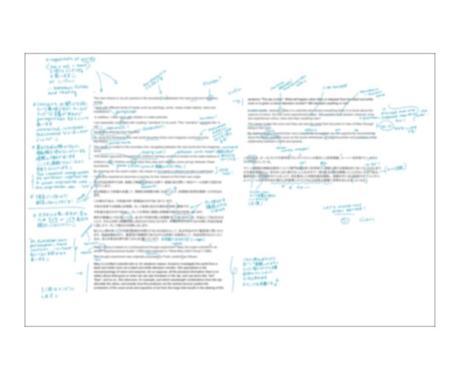 手書きでかわいく英語の赤ペン先生をやります 添削を見るときに心が痛まないフィードバックをします! イメージ1