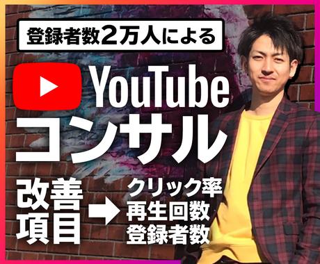 YouTube動画を30日間コンサルティングします チャンネル登録者や再生回数を増えないとお悩みの方に イメージ1