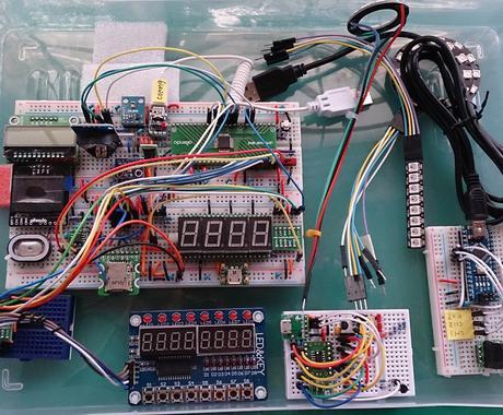 組込マイコン応用の電子制御回路の相談に乗ります 大手家電電子・ソフト設計の豊富な経験から的確なアドバイス イメージ1