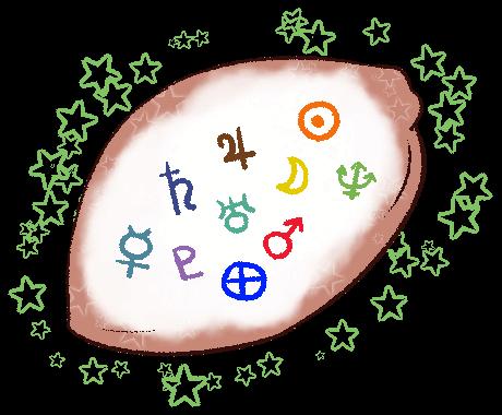占星術で鑑定します 星とあなたをつなげて、太陽の道へガイドします。 イメージ1