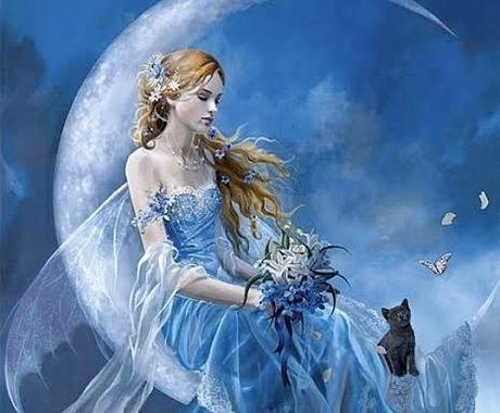 美と心の美しさヒーリングします 月のエネルギーで貴方をヒーリングします 鑑定あり イメージ1