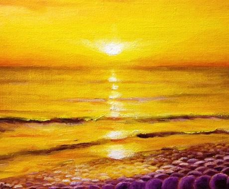 開運☆癒し☆神秘的な絵画、制作します 油絵歴46年の洋画家が描くヒーリングアート イメージ1