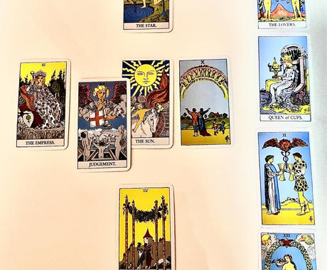タロット占いで相手の気持ちを可視化します 第3の目でタロットカードを読み解き相手の本音を可視化します イメージ1