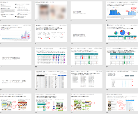 Googleアナリティクスでサイトを分析します 導入済のAnalyticsであなたのサイトを診断 イメージ1