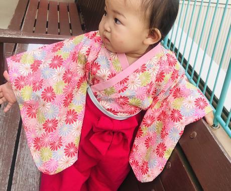小さいお子さん向けのお洋服作ります 保育士経験ありです。子供服は赤ちゃんから小学生高学年まで イメージ1