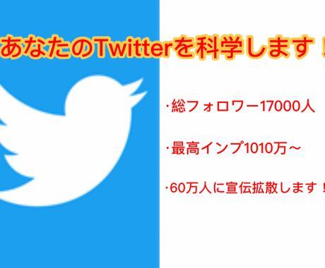 Twitter複数垢で60万人に宣伝拡散します 最低100RT以上〜本当の超拡散パワーをご堪能下さい! イメージ1
