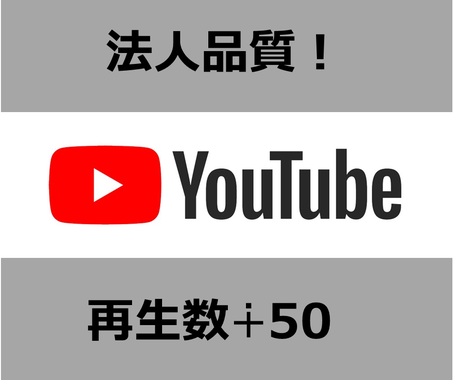 法人品質!Youtubeプロモーション致します 安心の法人対応 プロモーション イメージ1