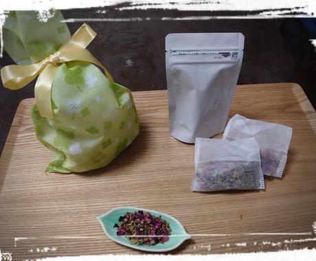 お家に余ったお茶の味編をアドバイスします ハーブと家にあるお茶類のブレンドのバリエーション イメージ1