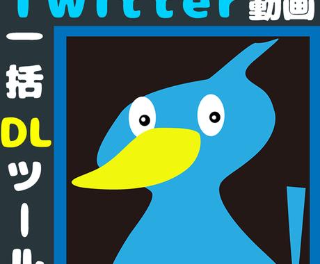 Twitter動画自動収集ツールを作成します 【Windows】メディア収集を楽にしたい方にオススメ! イメージ1