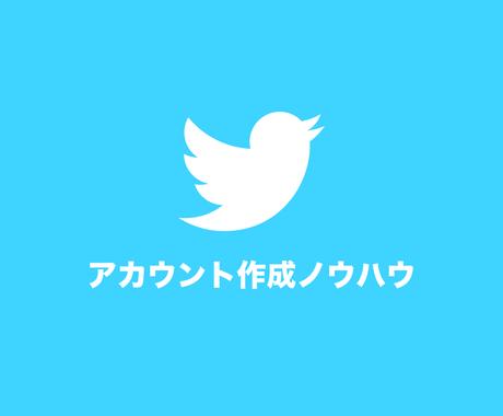 電話番号がなくてもTwitterのアカウント大量生産出来るノウハウ イメージ1