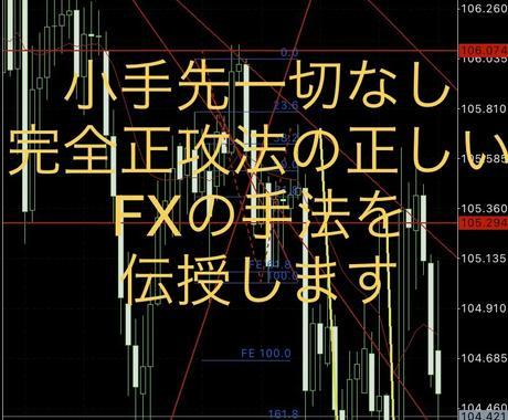 私が7年以上浮気せず使い続けるFX手法伝授します ちゃんとしたプロトレーダーの手法でRR意識してトレードする イメージ1