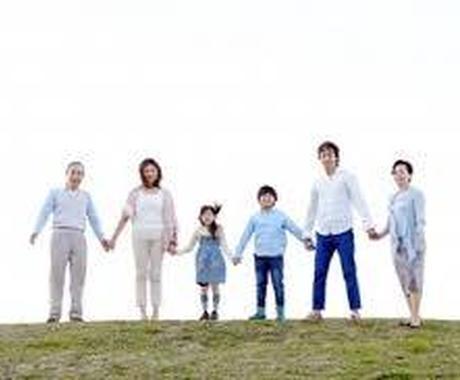 あなたとご家族の人間関係、因縁、テーマを鑑定します お名前と生年月日からご家族の関係性をみます。 イメージ1