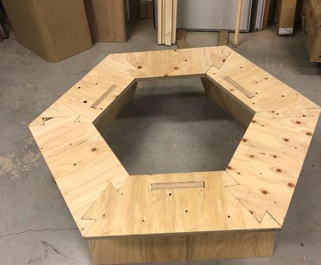 キャンプギアの作り方教えます オリジナルのヘキサテーブルを作ってキャンプに出かけよう! イメージ1