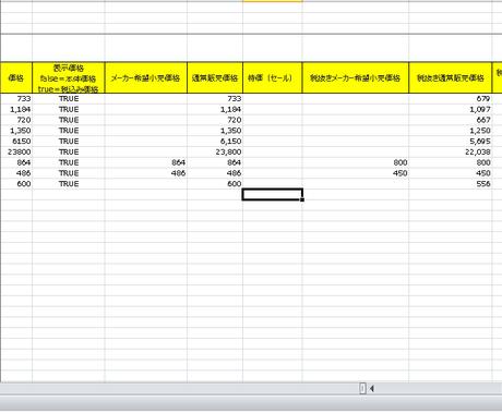 JANコードからYahoo!の最低価格を抽出します 価格調査、価格リサーチを効率的に行ないたい方へ イメージ1