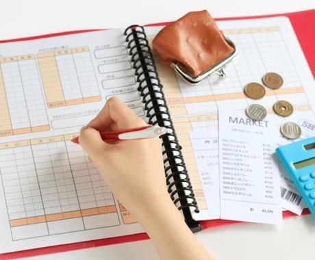 レシート画像から家計簿つけます アプリ・Excelで家計簿代理作成* イメージ1