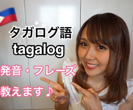 英語・タガログ語の発音、簡単なフレーズ教えます 英語*フィリピン語*タガログ語の発音や会話をわかりやすく説明 イメージ1