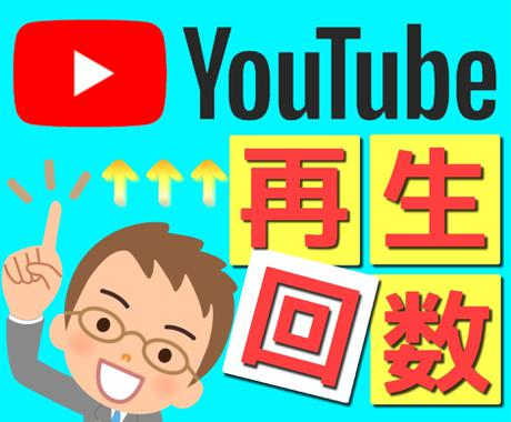 YouTube再生回数を1000~まで拡散します 目標の再生回数に達するまで広範囲に拡散し続けます イメージ1